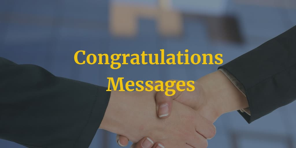 congratulations messages quotes wishes