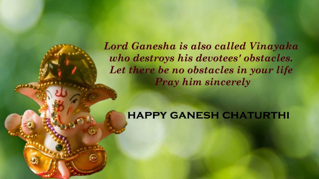 happy ganesha chatruthi wishes images