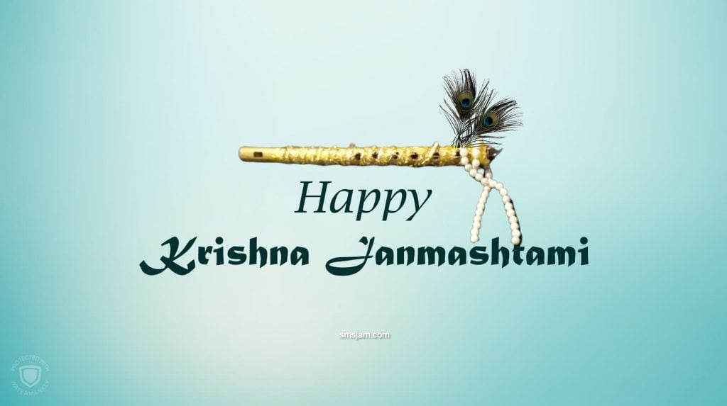 happy krishna janmashtami photo