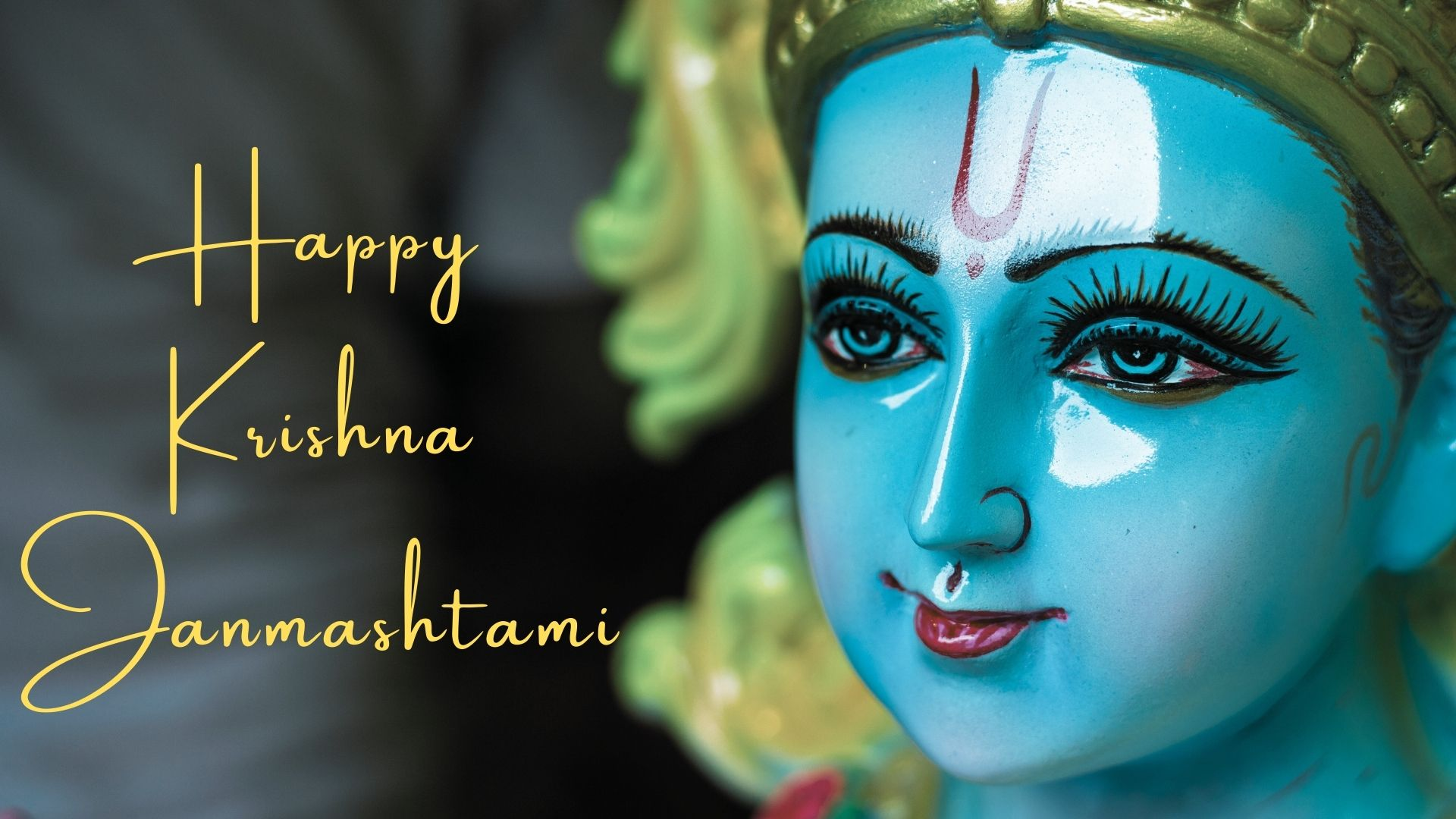 happy krishna janmashtami wishes image